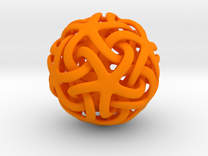 alto Estrella de mar in Orange Strong & Flexible Polished