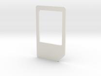 Micro Mini Sim Adapter in White Strong & Flexible