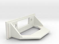 Amiga A1200 Rear Expansion DVI Cover in White Strong & Flexible