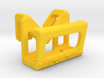 TeachPendantClipDiag_8mm_Heavy in Yellow Strong & Flexible Polished