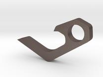 Micro keychain bottle opener in Stainless Steel