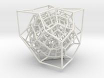 Inversion of Diamond Lattice 2 in White Strong & Flexible