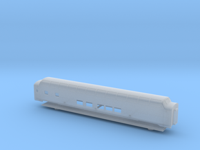 GN Lightweight Long Dome Car - Zscale in Smooth Fine Detail Plastic