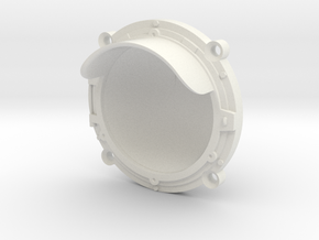 Headlight Bezel for LED in White Natural Versatile Plastic