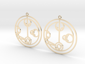 Melody - Earrings - Series 1 in 14K Yellow Gold