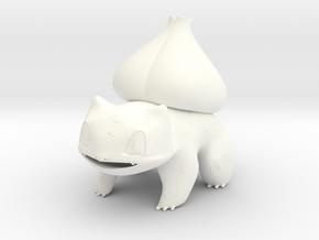 Bulbasaur in White Processed Versatile Plastic