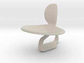 Chair No. 46 in Natural Sandstone