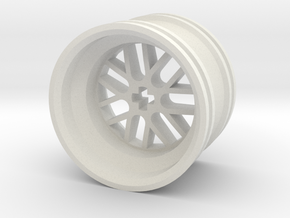 Wheel Design III MkII in White Strong & Flexible