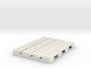 P-9-165st-short-2r-curved-outside-1a in White Natural Versatile Plastic