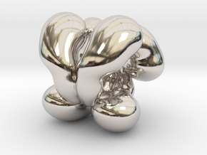 Bead Down syndrome (trollbead compatible) in Platinum