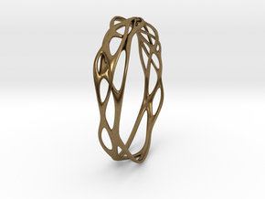 Incredible Minimalist Bracelet #coolest (S) in Natural Bronze: Small