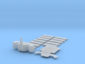 1/87 HO Gewichtssatz für Systemtraktoren in Smooth Fine Detail Plastic