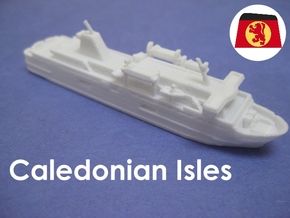 MV Caledonian Isles (1:1200) in White Natural Versatile Plastic