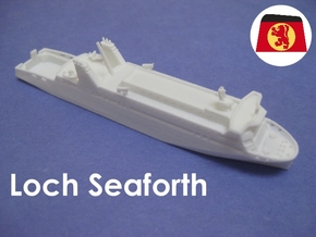 MV Loch Seaforth (1:1200) in White Natural Versatile Plastic
