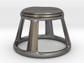 Chair No. 25 in Polished Nickel Steel