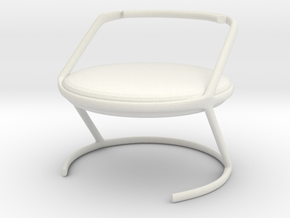 Chair No. 16 in White Natural Versatile Plastic
