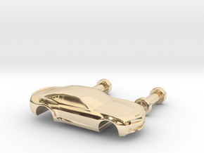 Camaro 1:160 in 14K Yellow Gold