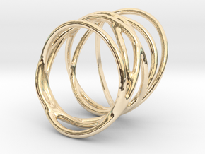 Ring of Rings No.3 in 14K Yellow Gold
