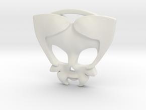 Cavalera07 in White Natural Versatile Plastic