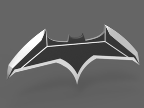 Batarang - Batman vs Superman Dawn of Justice  in Black Natural Versatile Plastic