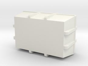 1:20 Cargo box 3 in White Natural Versatile Plastic
