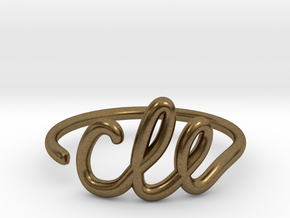 CLE Wire Ring (Adjustable) in Natural Bronze