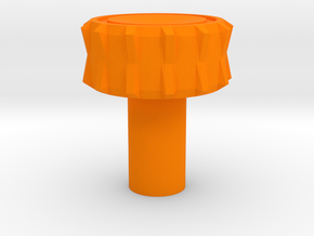 KillPlug v.5 in Orange Processed Versatile Plastic
