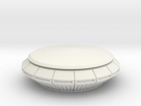 Gondel Starship - 1:87 (H0 scale) in White Natural Versatile Plastic