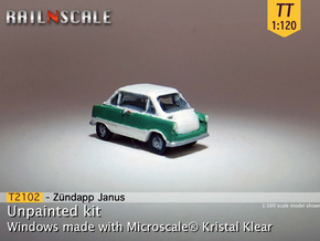 Zündapp Janus (TT 1:120) in Smooth Fine Detail Plastic