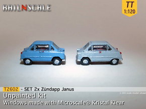 SET 2x Zündapp Janus (TT 1:120) in Smooth Fine Detail Plastic
