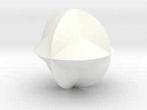 SHAPE in White Processed Versatile Plastic
