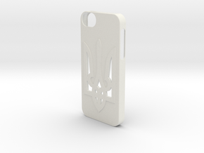 iPhone 5/5S Case  in White Natural Versatile Plastic