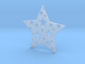 Funky Star in Smoothest Fine Detail Plastic