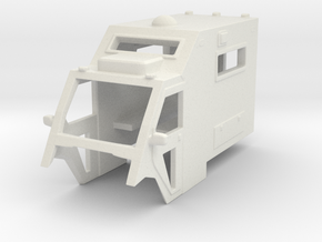 1/64 Scale MULE Ambulance Top in White Strong & Flexible