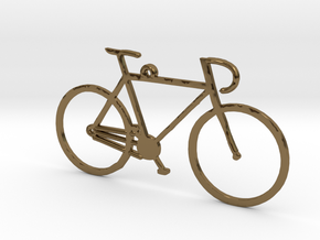 Racing Bicycle in Polished Bronze