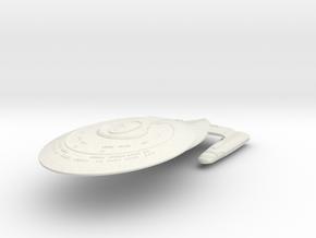 Star Class HvyDestroyer in White Natural Versatile Plastic