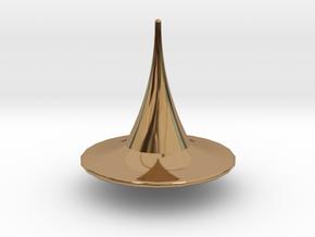 Totem in Polished Brass