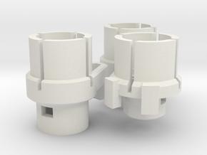 VW T5 Heater Control Adaptor 2007-onwards in White Natural Versatile Plastic