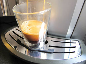 Saeco Coffee Machine Leak Tray Improvement in Black Strong & Flexible