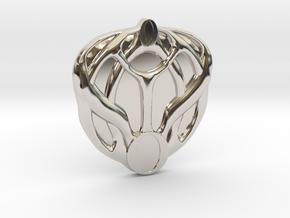 Mon Mothma's Brooch - large in Platinum