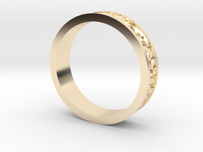 Harmony Ring in 14k Gold Plated Brass