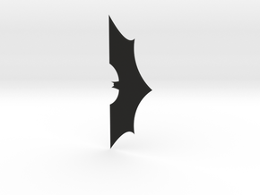 1:2 Scale Batarang From Batman in Black Natural Versatile Plastic