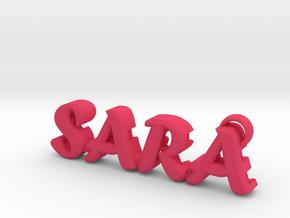 """""""Sara"""" nock depot (Easton G pin) in Pink Processed Versatile Plastic"""