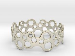 Bubbles Bracelet 75 in 14k White Gold