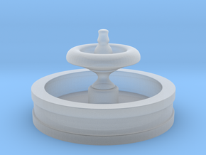 N Scale Fountain in Smoothest Fine Detail Plastic