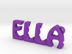 """Ella"" nock depot (MyNocks) in Purple Processed Versatile Plastic"