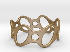 Fantasy Bracelet 70 in Polished Gold Steel