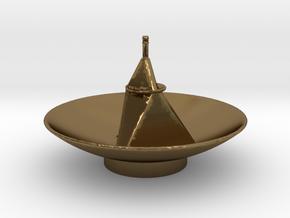 New Horizon's Antenna in Polished Bronze