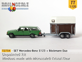 SET Mercedes T + Böckmann Duo (TT 1:120) in Smooth Fine Detail Plastic