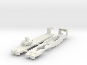 Sneltram Utrecht chassis, N-gauge in White Strong & Flexible